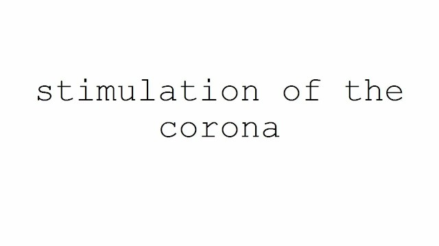 Electrical stimulation of the clitoris Masturbation techniques for men. stimulation of the corona.