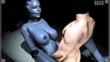 Mass Effect My Personal Asari Gameplay By LoveSkySan69