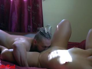 Vášnivé creampie porno