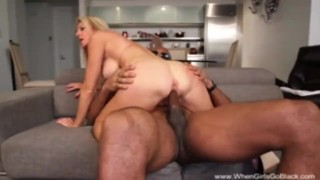 Pretty White Girl Goes BBC