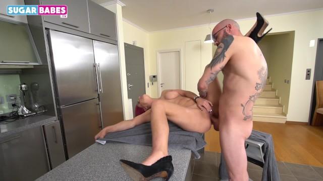 Greek Milf get fucked from her neighbor 3