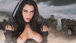 Valentina Nappi as Your Virtual Death Knight in Whorecraft Cosplay Parody