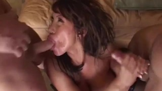 MomsWithBoys - Cock Hungry Mama Ava Devine Hardcore Anal Two Cocks
