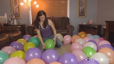 56 Balloon Sit Pop