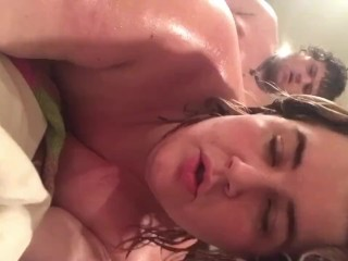 Oil rubdown fucking fingering and cum play...