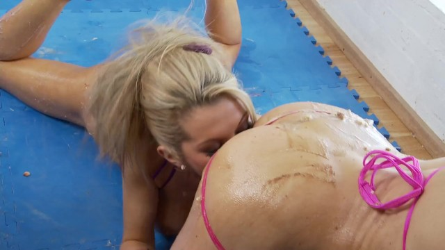 Busty Lesbians Enjoy Fucking with Food and Toys 6