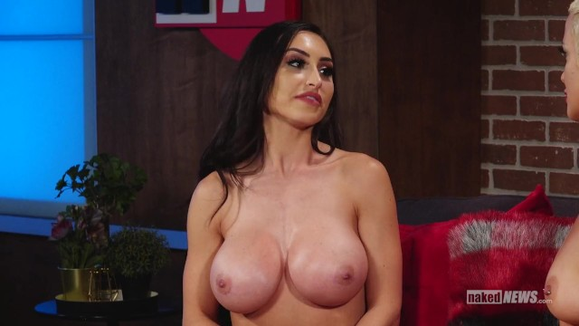 Laura linny naked Reya sunshine on naked news