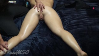 sensual massage turns to face fuck and huge juicy facial