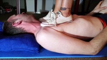 Hard Trampling with Converse Sneaker