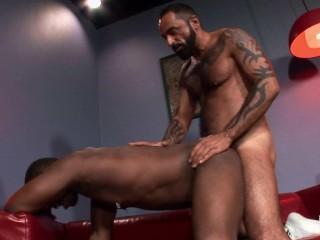 Guy anal muscular white man...
