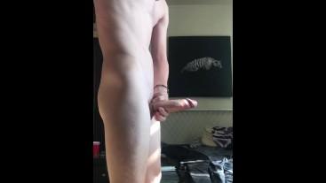 Cumminig in White Socks