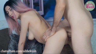 First Anal Creampie, Live on Chaturbate
