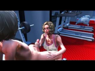 fucks femboy at the gym...