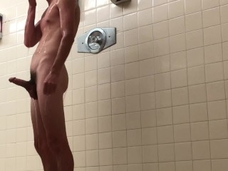 Nikita Mirzani - Public shower with white boy