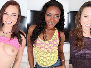 Aidra fox chanell heart audition at amateur allure...