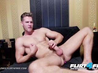 Alton lewis on flirt4free blonde hunk w vibrates...