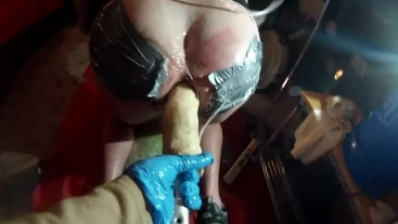 SUBMISSIVE HUSBAND- Pegging a Pig