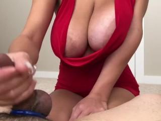 Teen Street Hooker gives Cum Rope Hnadjob
