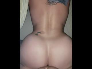 Bottom taking big cock...