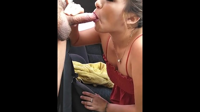 Devouring my cock, face fucking her 18