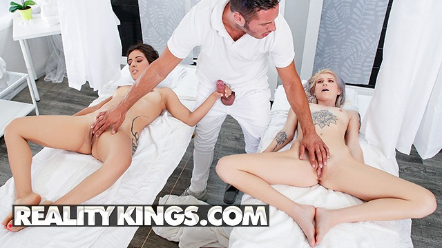 Teen missing blue mountains - Reality kings - lesbian couple massage, ends in threesome