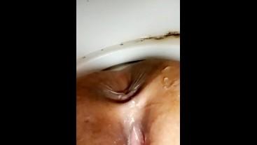 Taking a pee