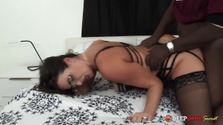 MDDS Hotwife Helena Price Creampied by Black Dick for Cuck Hubby