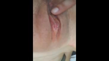 Dripping wet ass tease