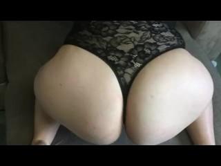 Ass masturbation solo...