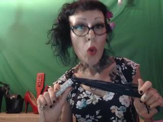 Miss Wagon Vegan - Provo la frusta regalatami da un sexy shop molto fetish