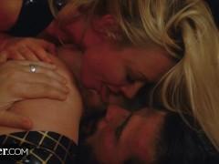 Deeper. Kayden Kross and Her Husband Using Fuck Doll Aidra Fox