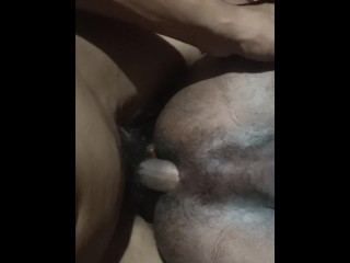 Ass breeding my best friend in a hotel