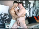 ManRoyale Hunks Strip Down From Broken Air Conditioner