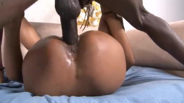 Monster Black Cock Threesome