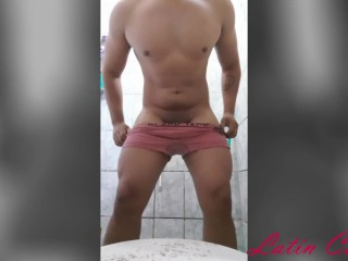 Porn for women latin guy touching on camera...