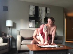 Naughty Young Student Gets Fucked By Stepdad