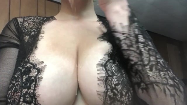 Goth punk xxx - Your big titty goth girlfriend plays with her tits for you