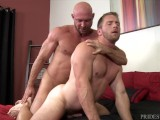 PrideStudios Daddy Killian Knox Barebacks His Boyfriend
