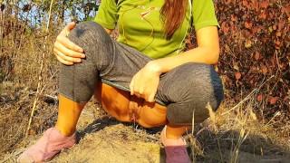 PUBLIC PISSING on Jogging Trail