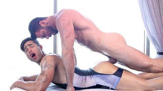 Straight Young Jock Gets Pounded Out By Muscle Daddy Masseur