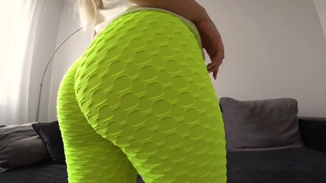 Amateur;Big Ass;Blonde;Creampie;Teen (18+);POV;Russian;60FPS;Verified Amateurs butt, point-of-view, yoga-pants, panties, leggings, big-butt, big-booty, pawg, sperm, doggystyle, reverse-cowgirl, bubble-butt, homemade, phat