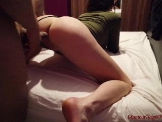Thick Sex Toy In My Pussy And My Best Friend Hard Cock In My Ass! (Part 1)