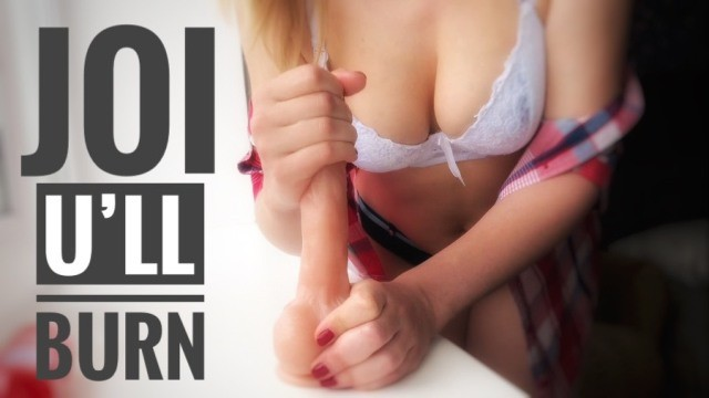 Painful bowel movements and burning anus - Super joi. u will burn from 6 min no humiliation
