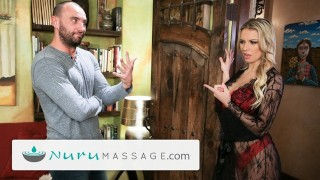 NuruMassage Cheating Husband Visits Kenzie Taylor for Full Service