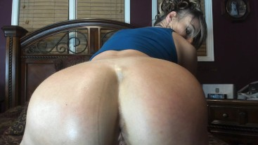 HER ASSHOLE IS TOO PERFECT TO NOT FUCK -- TEASE