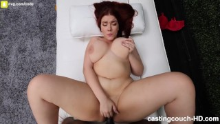 Redhead PAWG Gets Fucked By Her First Black Cock