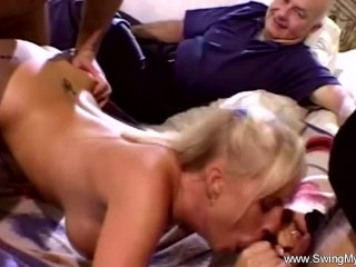 Rough Fuck For Horny Housewife Swinger Glory Babe