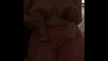 Pregnant Teen Milf Milk Pumping Big Boobs Big Ass Milk Play Fetish