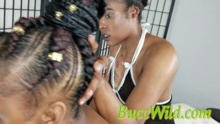 Ghetto Girl First Time ANAL.....Purity manipulates her friend Money Morgan