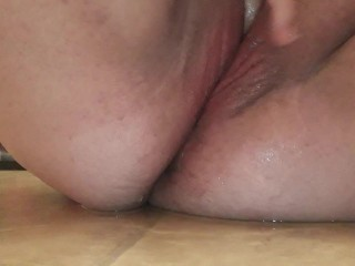 Close up of BBW Squirting and Multiple Orgasms